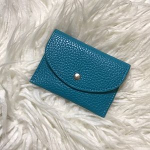 Handbags - Turquoise Card Case